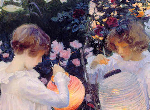 Carnation, Lily, Lily Rose by John Singer Sargent